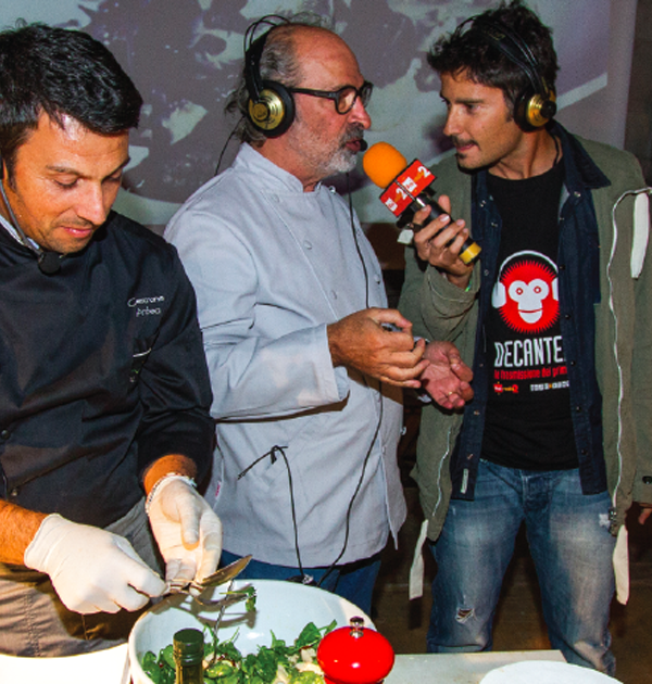 Padova Cooking Show - Decanter Radio2