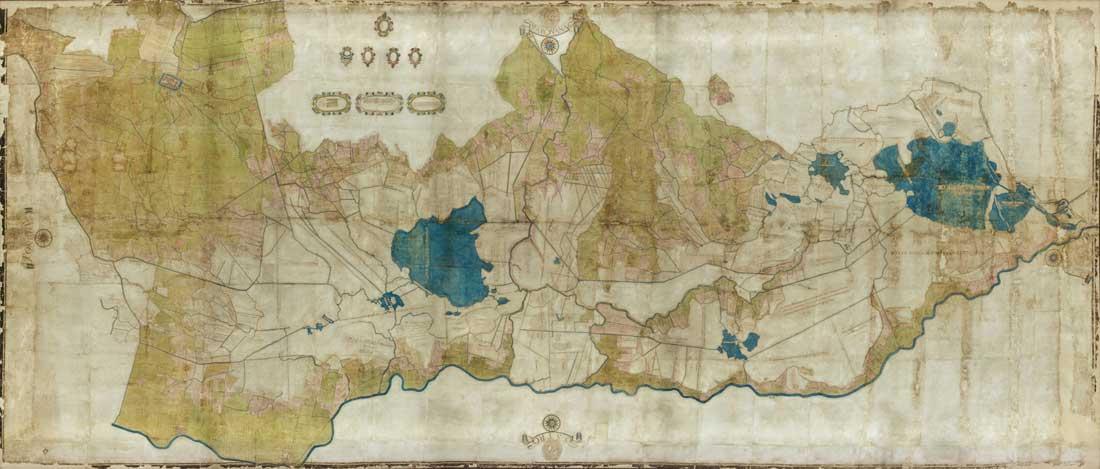 Mappa del Retratto del Gorzon